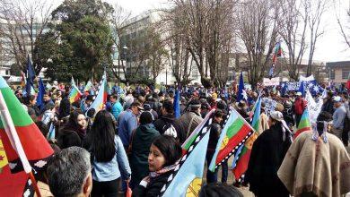 Photo of Agrupaciones mapuche marchan por la defensa del agua en Temuco