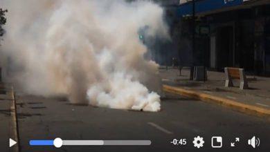 Photo of Presentan acción legal en contra de Carabineros por uso ilegal de balines y lacrimógenas en Temuco