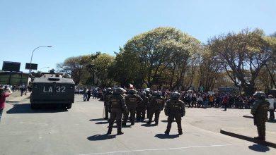 Photo of Funcionarios de la salud no pudieron marchan en Temuco: fuerte represión de FF.EE