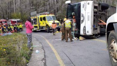 Photo of Corte de Temuco ratificó la  prisión preventiva para conductor de bus que volcó y dejó 3 estudiantes  muertos Curacautín