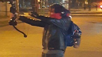 Photo of En Temuco joven fue detenido por lanzar flechas a Carabineros