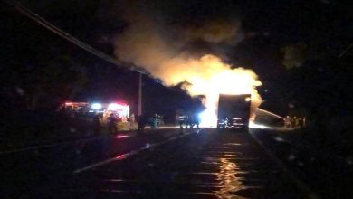 Photo of Encapuchados armados queman un camión en La Araucania