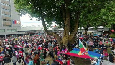 """Photo of Intendente Atton por  manifestación en Temuco: """"Ha sido la más grande que se ha tenido en la Región"""""""