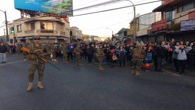 Photo of Joven herido con perdigón es detenido por militares en  Temuco
