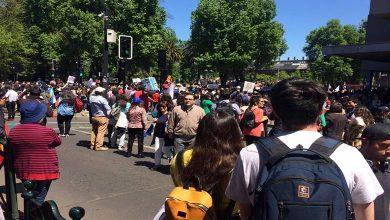 Photo of Multitudinaria marcha se desarrolla en el centro de Temuco