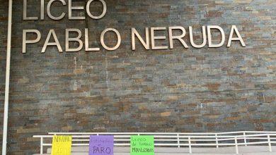 Photo of Alumnos del liceo Pablo Neruda se encuentran en paro indefinido