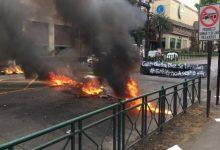 Photo of Barricadas se registran en diversos puntos de Temuco