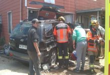 Photo of Collipulli: Embarazada habría robado auto, escapado de Carabineros y terminado incrustada en una vivienda