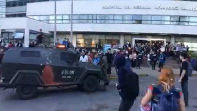 Photo of VIDEO: Corte de Temuco ordena a carabineros cumplir protocolo en manifestaciones aledañas al Hospital