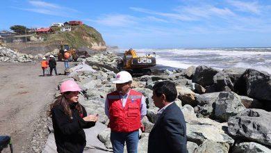 Photo of MOP finaliza en febrero del año 2020 trabajos de enrocado en borde marítimo en el sector Boca Budi