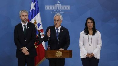 Photo of Presidente Piñera convoca a los chilenos a acuerdos por la paz, por la justicia y por una nueva Constitución