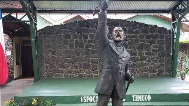 Photo of Temuco: Armada recuperó estatua de Arturo Prat que había sido derribada y quemada