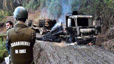 Photo of Temuco: Gobierno invoca Ley Antiterrorista por ataque a maquinarias de empresa constructora