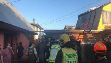 Photo of Dos viviendas y un vehículo afectado deja incendio en Temuco