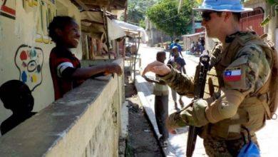 Photo of Pedirán exámenes de ADN a los uniformados que viajaron a Haití para descartar paternidad