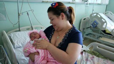 Photo of Isabell fue la primera recién nacida del Hospital de Temuco