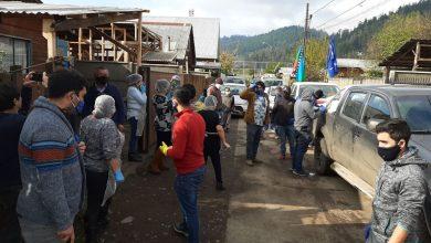 Photo of Comunidades mapuches donaron 6 mil kilos de alimentos a vecinas que realizan una olla común en el sector San Antonio de Temuco