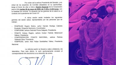 Photo of Gremios de la salud expondrán al Senado la situación de  trabajadores que combaten la pandemia