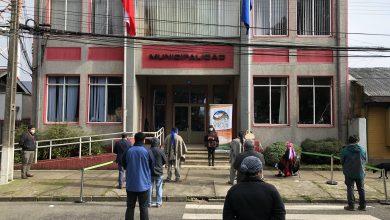 Photo of Vilcún iza bandera ancestral mapuche por séptimo año consecutivo en frontis del municipio