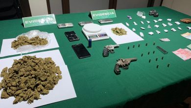 Photo of Carabineros del OS-7 detiene a seis personas y saca de circulación más de 4 mil dosis de marihuana cripy en Temuco y Lautaro