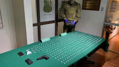 Photo of Carabineros saca de circulación banda dedicada al tráfico de pasta base y cocaína en Vilcún
