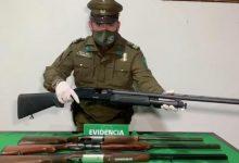 Photo of Carahue: Siete personas fueron detenidas por porte ilegal de armas