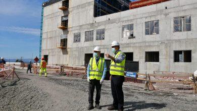 Photo of Continúan avances en construcción de Hospital de Villarrica pese a contingencia COVID 19