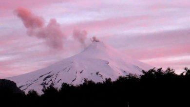 Photo of Monitoreo al volcán Villarrica: autoridades de La Araucanía recomiendan no subir