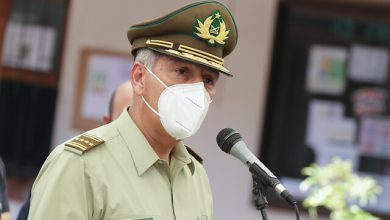 """Photo of General Rozas tras muerte de funcionario: """"He dispuesto medidas para apoyar a carabineros de Temuco e ir detrás de los delincuentes"""""""