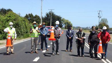 Photo of Ministerio de Obras Públicas pone en servicio mejoramiento de Ruta Carahue – Saavedra en la Región de La Araucanía