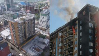 Photo of Incendio en edificio de Temuco deja una persona fallecida