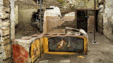 Photo of Arqueólogos descubren un «fast-food» en antigua calle de Pompeya