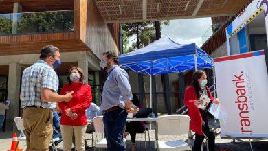 Photo of Oficina de Trasbank Movíl atendió en en el frontis de la Gobernación de Malleco