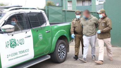 Photo of Carabineros del OS-9 detiene a delincuentes que robaron y extorsionaban a comerciante en Temuco