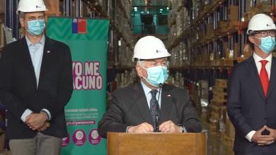 Photo of Ministro Paris negó que exista quiebre de stock en vacunas contra el Covid-19 en el país tras recibir cargamento de 160 mil nuevas dosis de Pfizer-BioNTech