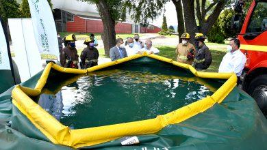 Photo of Municipio de Temuco entrega a Bomberos dos estanques de 15 mil litros cada uno para el combate de incendios