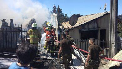 Photo of Incendio destruye 3 viviendas  en Temuco