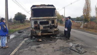Photo of La BIPE de Temuco está haciendo diligencias tras el ataque a un camión de madera en Labranza