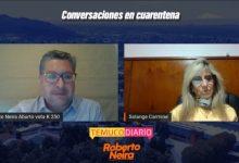 Photo of Streaming de Roberto Neira entrevistando a Solange Carmine explotó las redes sociales con apoyos y reconocimiento a ambos en sus carreras en el servicio público