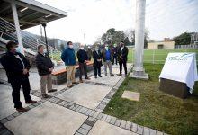 Photo of Alcalde Jaime Salinas inauguró estadio del Liceo Pablo Neruda