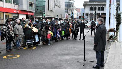 Photo of Municipio de Temuco celebra el We Tripantu con izamiento de bandera mapuche Wünelfe