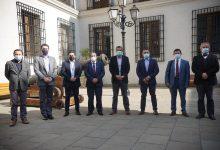 Photo of Alcaldes de Costa Araucanía se reunieron en la Moneda