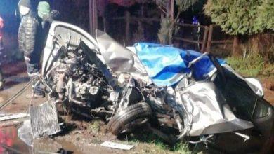 Photo of Accidente vehicular dejó dos personas fallecidas en ruta Villarrica-Lican Ray