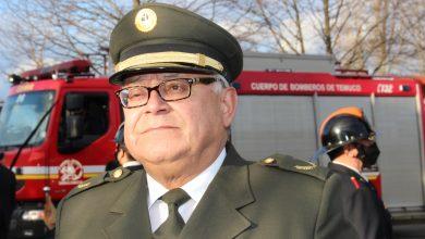 Photo of Falleció el director honorario Fredy Rivas, uno de los comandantes más emblemáticos del Cuerpo de Bomberos de Temuco