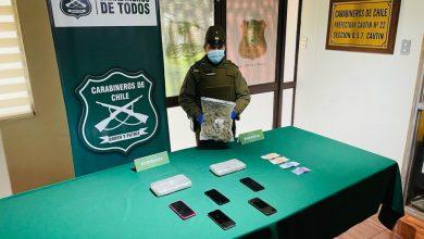 Photo of Carabineros del OS-7 Araucanía en controles carreteros decomisan $46 millones en drogas