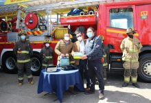 Photo of Donan dos desfibriladores al Cuerpo de Bomberos de Temuco