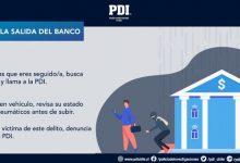 Photo of En estas Fiestas Patrias: PDI Araucanía entrega recomendaciones para evitar ser víctima del robo en modalidad «salida de bancos»