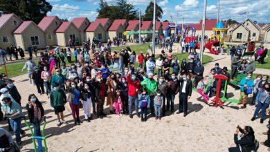 Photo of Comité de vivienda de Lautaro celebra con fotografía aérea la entrega de llaves